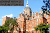 Post-doctoral Fellowship at Johns Hopkins University: (Deadline 1 March 2021)