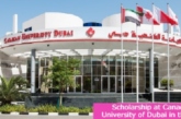 Scholarship at Canadian University in the UAE: (Deadline 7 July 2021)