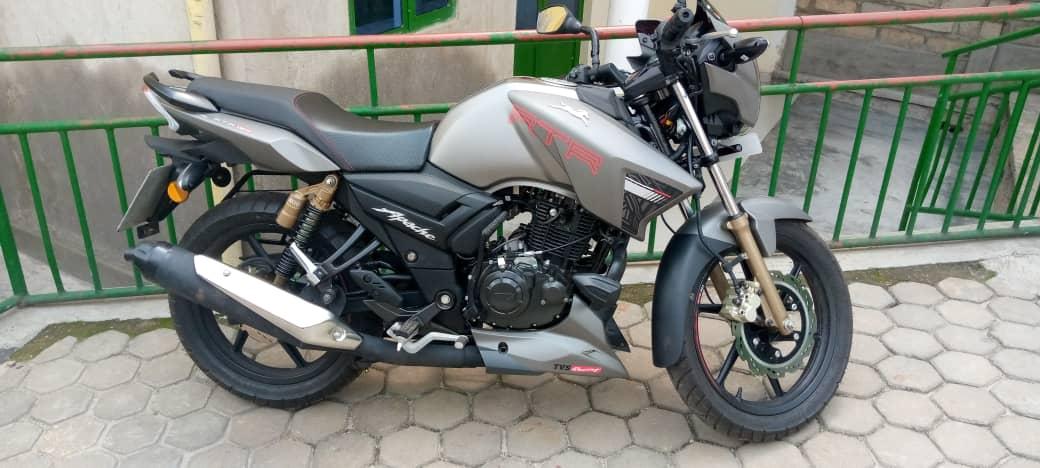 Moto Apache Nshya igurishwa 2,100,000Frw