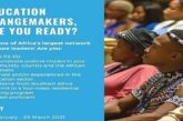 YALI RLC-SA/Trevor Noah Foundation Education Changemakers Programme 2021: (Deadline 26 March  2021)