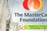 Mastercard Foundation Scholarship in Africa: (Deadline Ongoing)
