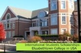 International Students Scholarships at Elizabethtown College in USA: (Deadline 1 April 2021)