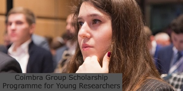 Coimbra Group Scholarship Programme for Young Researchers: (Deadline 16 April 2021)