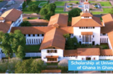 Scholarship at University of Ghana: (Deadline 31 March 2021)