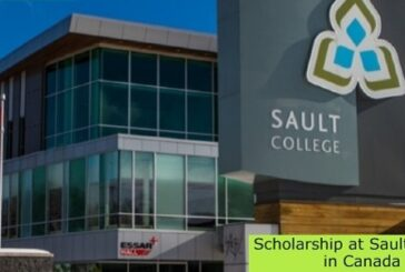 Scholarship at Sault College in Canada: (Deadline 5 May 2021)
