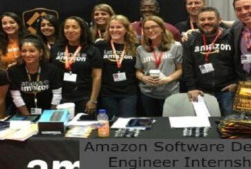 Amazon Software Development Engineer Internship 2021: (Deadline 30 June 2021)