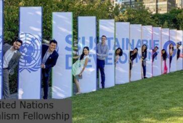 United Nations Journalism Fellowship: (Deadline 15 June 2021)