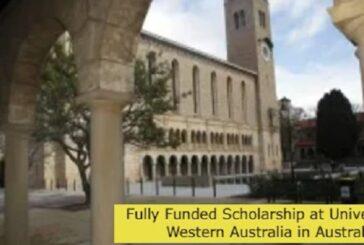 Fully Funded Scholarship at University of Western Australia in Australia: (Deadline 23 July2021)