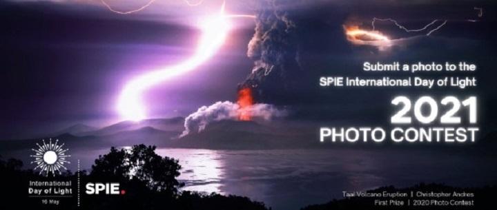 SPIE International Day of Light Photo Contest 2021: (Deadline 16 September 2021)
