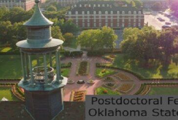 PostDoctoral Fellowship at Oklahoma State University: (Deadline31 July 2021)