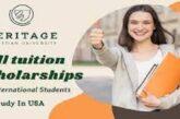 Scholarship at Heritage Christian University in USA(Deadline : 21 July 2021)