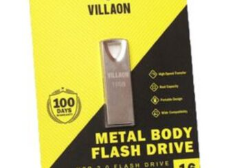 VILLAON 16GB USB 2.0 Flash high-speed Transfer  |  Real Capacity  |  Portable Design  |  Wide Compatibility