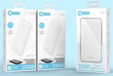 YUGAO Original Fast Charge ultra Slim  2 USB 1000mAh  15,000Frw