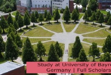 Study at University of Bayreuth in Germany   Full Scholarship: (Deadline 31 August 2021)