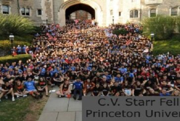 C.V. Starr Fellowship at Princeton University: (Deadline30 August 2021)