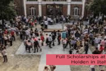 Full Scholarships at Scuola Holden in Italy: (Deadline 31 August 2021)
