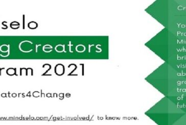 Mindselo Young Creators Program 2021: (Deadline 15 August 2021)