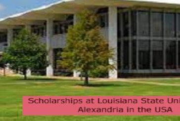 Scholarships at Louisiana State University of Alexandria in the USA: (Deadline 1 October 2021)