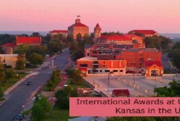 International Awards at University of Kansas in the USA: (Deadline 31 August 2021)