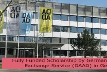 Fully Funded Scholarship by Germany Academic Exchange Service (DAAD) in Germany: (Deadline 31 August 2021)