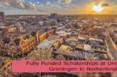 Fully Funded Scholarships at University of Groningen in Netherlands: (Deadline 1 December 2021)