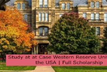 Study at Case Western Reserve University in the USA | Full Scholarship: (Deadline 30 November 2021.)