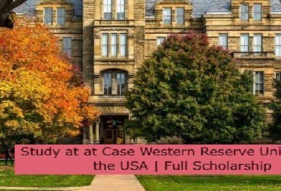 Study at Case Western Reserve University in the USA   Full Scholarship: (Deadline 30 November 2021.)