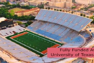 Fully Funded Award at University of Texas in the USA: (Deadline 1 October 2021)