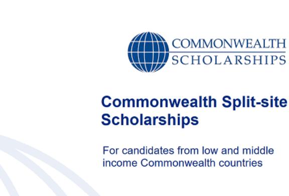 Commonwealth Split-Site Scholarships 2021/2022: (Deadline 13 August 2021)