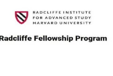 Harvard Radcliffe Fellowship Program 2022/2023 (stipend available): (Deadline 30 September 2021)