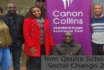 Tom Queba Scholarships for Social Change 2021/2022: (Deadline 9 August 2021)