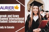 Wilfrid Laurier University (WLU), Canada 2021 Farouk and Dawn Ahamed International Student Scholarships